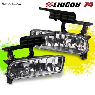 $17.50 • Buy For 00-06 Chevy Silverado Tahoe Suburban Clear Bumper Fog Lights Driving Lamps