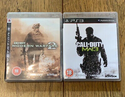Call Of Duty: Modern Warfare 2 & 3, PS3 Sony PlayStation 3, Activision • 6.50£