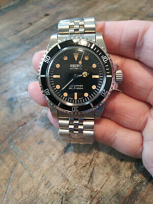 $ CDN228.71 • Buy 5513 Submariner Mod Seiko NH35 Automatic Stainless Mens Diver Watch Nice!!!