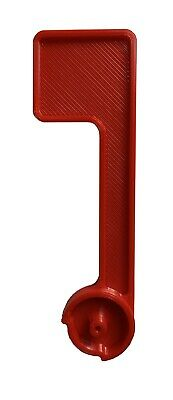 $11.99 • Buy Red Flag Replacement Rubbermaid Mailbox - Plastic