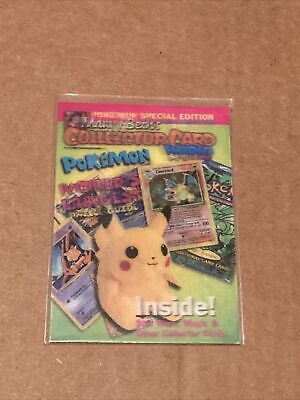 $6.99 • Buy Pokemon Mary Beth's Collector Card Lenticular 3D 1999 Pikachu Special Edition