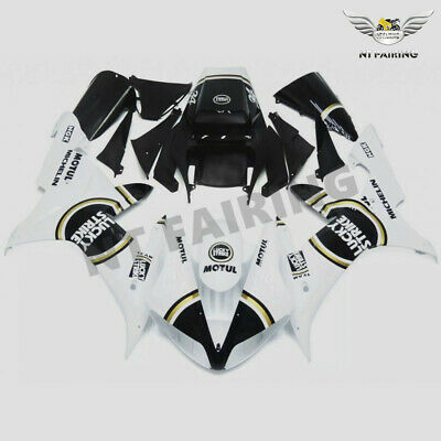 $549.99 • Buy MS Fit For Yamaha R1 YZF 2002-2003 White Injection ABS Fairing Plastics Kit Z030