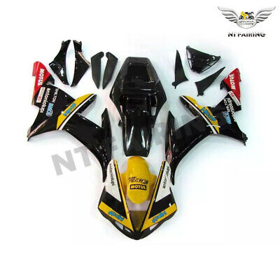 $549.99 • Buy MS Fit For Yamaha R1 YZF 2002-2003 Black Injection ABS Fairing Plastics Kit Z047