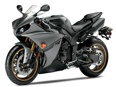 $639.99 • Buy MS Injection Grey Black Fairing Fit For 2012-2014 Yamaha YZF R1 Cowl Set New Z03