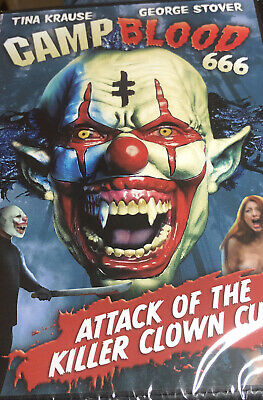 $ CDN4.94 • Buy Camp Blood 666 DVD UNRATED Tina Krause, George Stover