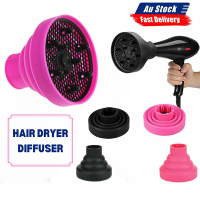 AU14.39 • Buy NEW Silicone Hair Dryer Universal Travel Professional Salon Foldable Diffuser