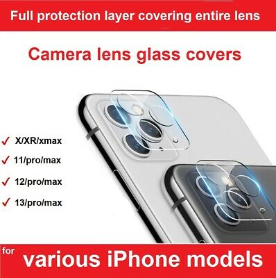 £2.29 • Buy 9H Camera Lens For IPhone 12, 11 Pro MAX XR Case Protector Tempered Glass Cover