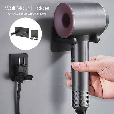 AU17.59 • Buy Wall Mount Bracket Stand Holder Storage For Dyson Supersonic Hair Dryer