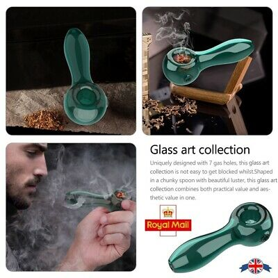 Glass Octopus Pipe  Dark Blue Pipe  Purple Clear Octopus  Honeycomb Detail  Smoking Tobacco Glass Pipe Spoon Bowl