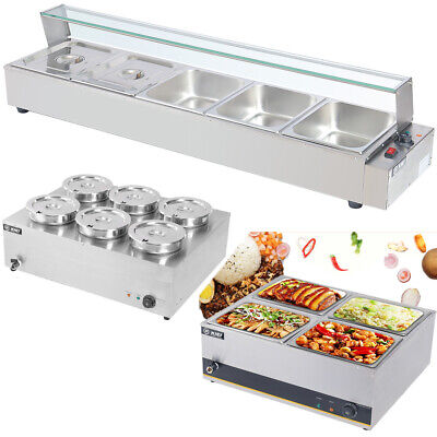 £135.95 • Buy Bain Marie Food Warmer Buffet Stainless Steel Electric Tray Catering Restaurant