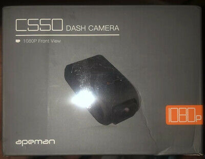 AU70.84 • Buy APEMAN Dash Cam, Front And Rear Camera For Cars FHD 1080P