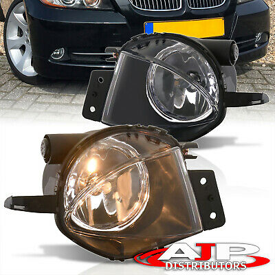 $32.99 • Buy Chrome Replacement Driving Fog Lights Lamps For 2006-2008 BMW 3 Series E90 4dr