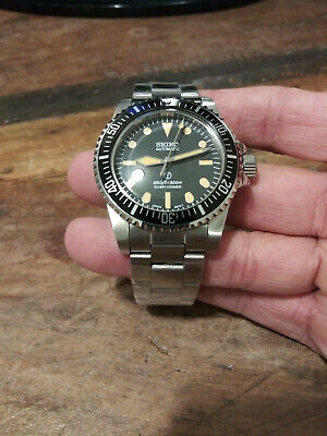 $ CDN191.11 • Buy 5517 Milsub Submariner Seiko NH35 Automatic Stainless Mens Diver Watch Nice!!!