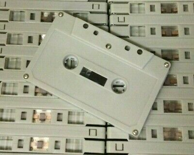 £12.95 • Buy 5 NEW HI QUALITY BLANK C 90 CASSETTE TAPES AUDIO MUSIC Or SPEECH 5 SCREW TABS IN
