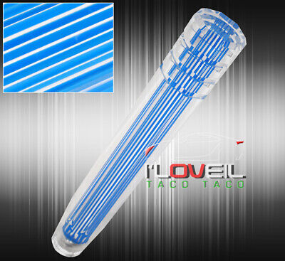 $28.99 • Buy For Subaru 12  12X1.25mm Clear 3D Style Long Extended Dildo Shift Knob M/T Blue