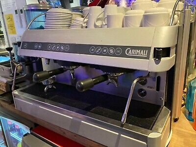 £400 • Buy Large Carimali Commercial Coffee Machine 2 Group Single Phase Electric 3kw