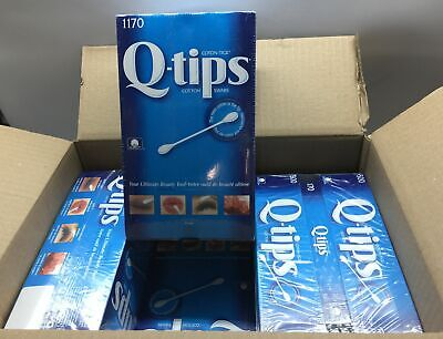 $ CDN16.50 • Buy NEW LOT OF 8 X 1170 (9360 Count) Q-Tips Cotton Swabs Value Pack $67.20