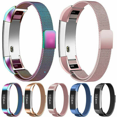 AU9.29 • Buy For Fitbit Charge 2 Strap Replacement Milanese Loop Band Stainless Steel Magnet