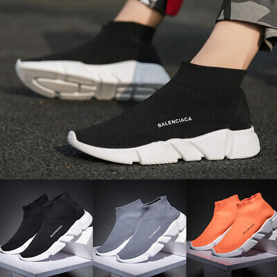 $ CDN30.86 • Buy Womens Mens Elastic Sock Shoes Comfort Breathable Running Trainers Sport Shoes