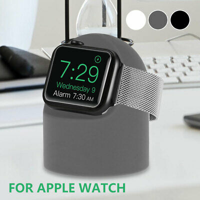 £5.59 • Buy Apple Watch IWatch 5/4/3/2/1 Charger Station Stand Silicone Fast Charging Dock