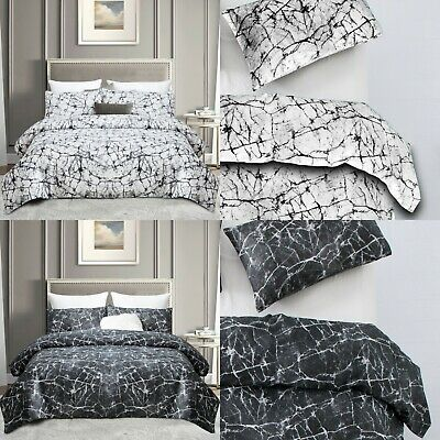 AU28.44 • Buy 3 PCs Digital Printed Duvet Quilt Cover Bed Linen Reversible Bed Set Double King