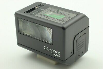 $ CDN347.16 • Buy [ MINT ] Contax TLA200 Black Shoe Mount Flash For G1 G2 From JAPAN #53
