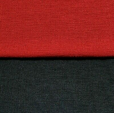 £4.99 • Buy Knit Jersey Fabric 4 Way Stretch Figured Dressmaking Sold By The Metre
