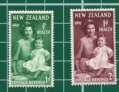 AU2.41 • Buy Vintage New Zealand Health Stamps Mounted Mint