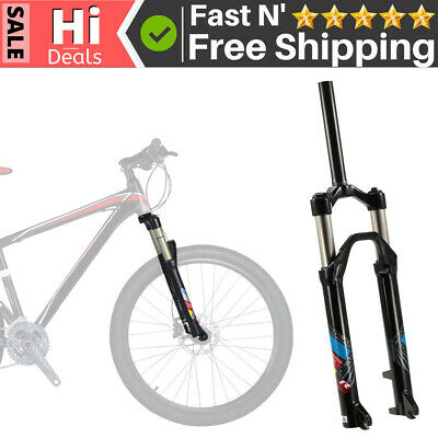 £37.99 • Buy 26inch Mountain Bike Bicycle Oil/Spring Front Fork Cycling Bicycle Fork E3N8