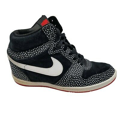 $ CDN91.22 • Buy Nike Womens Force Sky High 705148-001 Polka Dot Black Athletic Shoes Size US 11