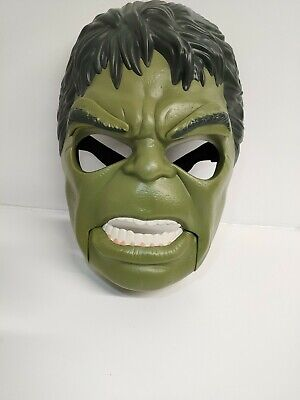 £14.99 • Buy Marvel Hulk Dress Up Head Face Mask Role Play Large Toy Moving Mouth