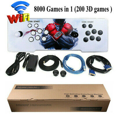 AU272.69 • Buy 8000 In 1 Pandora's Box Latest With Wifi Arcade Console 2D 3D Retro Video Games