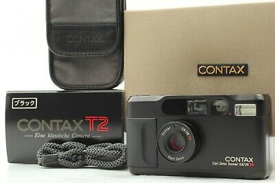 $ CDN2911.55 • Buy Rare!  [Top Mint /in Box] Contax T2 Limited Black 35mm  Point Shoot W/Case JAPAN