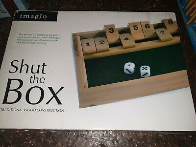 £7.30 • Buy 101y Shut The Box Numeracy Game Dice Game
