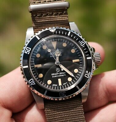 $ CDN159.35 • Buy Vintage Style Seiko Submariner Homage Mod NH35 Automatic Stainless Diver Watch