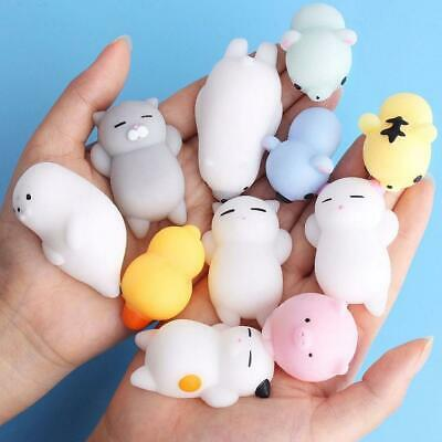 AU2.62 • Buy Mini Squishy Cute Animal Antistress Ball Squeeze Soft Stress Relief Toy Fun Gift
