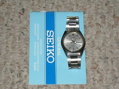 $ CDN25 • Buy Vintage SEIKO 5 Automatic Day/Date Watch 6309-7150