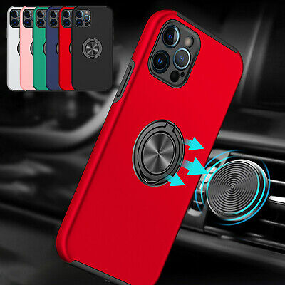 AU10.39 • Buy For IPhone 12 11 Pro Max XS XR 7 8 Plus Magnet Ring Shockproof Stand Case Cover