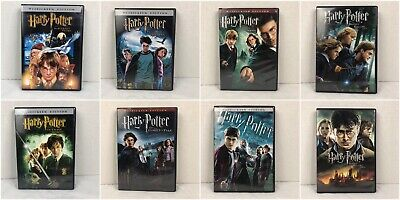 $ CDN26.80 • Buy Harry Potter: Complete Collection (DVD Set) Custom Lot Of 8 Individual Film Set