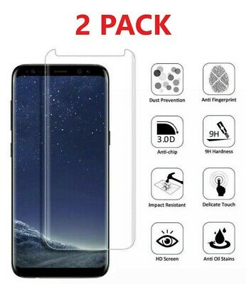 $ CDN7.54 • Buy 2X Samsung Galaxy Note 8 & Note 9 Case Friendly Tempered Glass Screen Protector