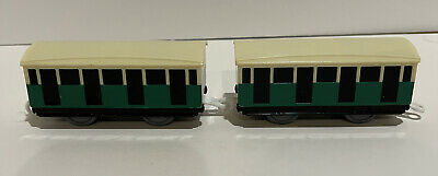 £14.54 • Buy MIGHTY MAC'S COACHES 2x Lot THOMAS TRACKMASTER TRAIN Mattel Replacement