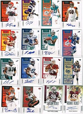 $ CDN6.87 • Buy Lot Of (50) Auto Jersey Relic Rookie RC Numbered SP Single NFL Sports Cards