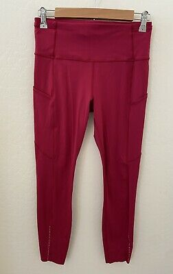 $ CDN15 • Buy Lululemon Fast Free 7/8 Tight Nulux Size 8 Violet Red