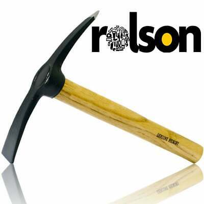 £13.88 • Buy Rolson 400grm Hickory Chipping Hammer With Chisel - Midi Pick Mattock
