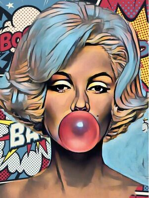 £20 • Buy Marilyn Monroe Canvas Wall Art Picture Print 20x30 Inch Ready To Hang