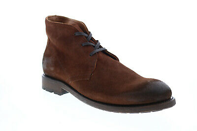 $90.99 • Buy Frye Bowery Chukka 80324 Mens Brown Suede Lace Up Chukkas Boots