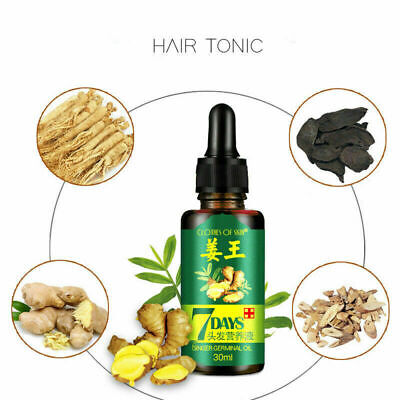 AU9.97 • Buy Regrow 7 Day Ginger Germinal Hair Growth Serum Hairdressing Oil Hair Relief