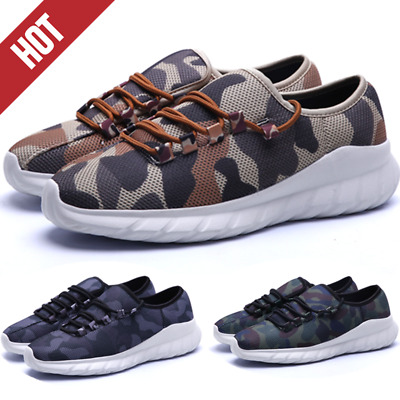 £12.39 • Buy 2020 Mens Casual Camouflage Shoes Athletic Sneakers Trainers Sports Running Gym