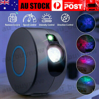 AU49.98 • Buy 3D LED Starry Projector Nebula Night Light Lamp Galaxy Baby Room Party Gifts AU