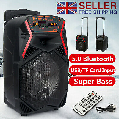 £45.99 • Buy Portable Wireless Bluetooth Subwoofer Speakers Heavy Bass Home Party TF/AUX/MP3